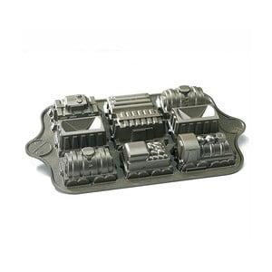 Formičky na minibábovky Nordic Ware Vláčik s mašinkou