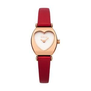 Červené dámske hodinky Oasis Heart