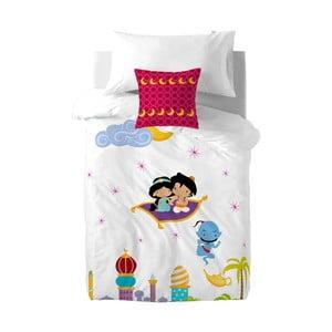 Detské bavlnené obliečky na paplón a vankúš Mr. Fox Aladdin, 140×200cm