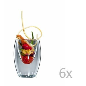 Sada 6 stredných pohárov bloomix Ovo