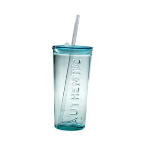 Cestovný pohár z recyklovaného skla Ego Dekor Authentic, 500ml