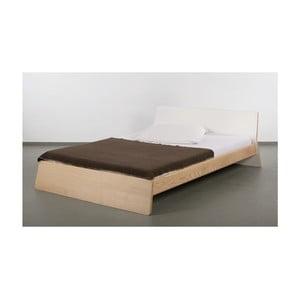 Posteľ z jaseňového dreva Ellenberger design Private Space, 140 x 200 cm