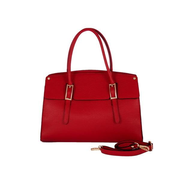 Kožená kabelka Andrea Cardone 2012 Red