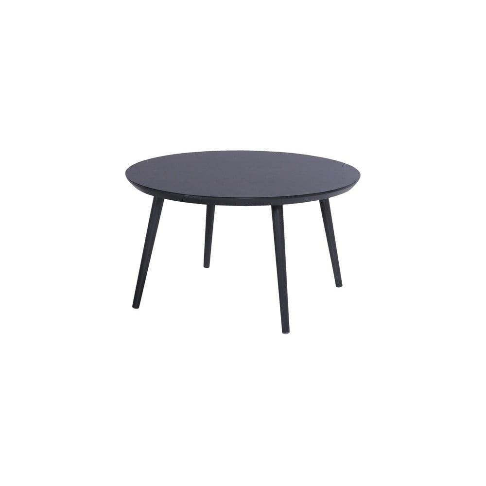 Čierny záhradný stôl Hartman Sophie Studio, ø 128 cm