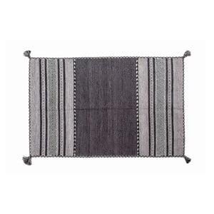 Ručne tkaný koberec Kilim Tribal 102, 90x60 cm