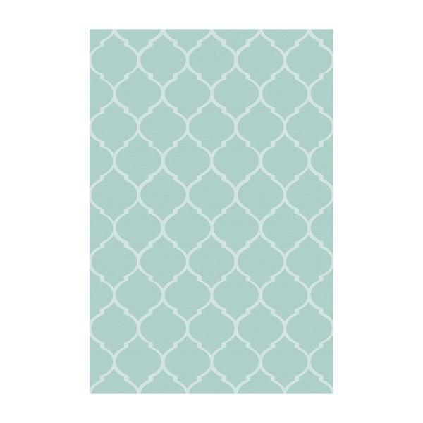 Vinylový koberec Reticular Celeste, 100x150 cm