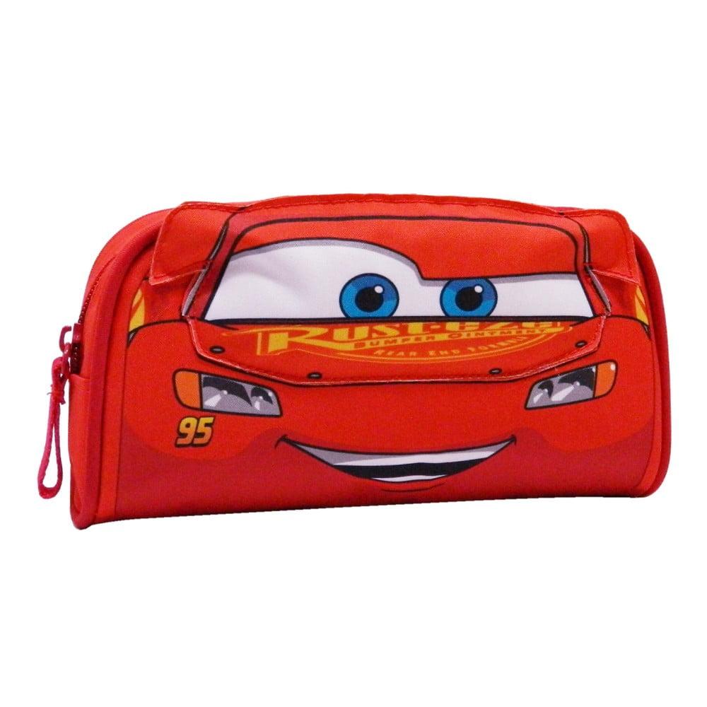 Červený detský peračník Bagtrotter Future Cars