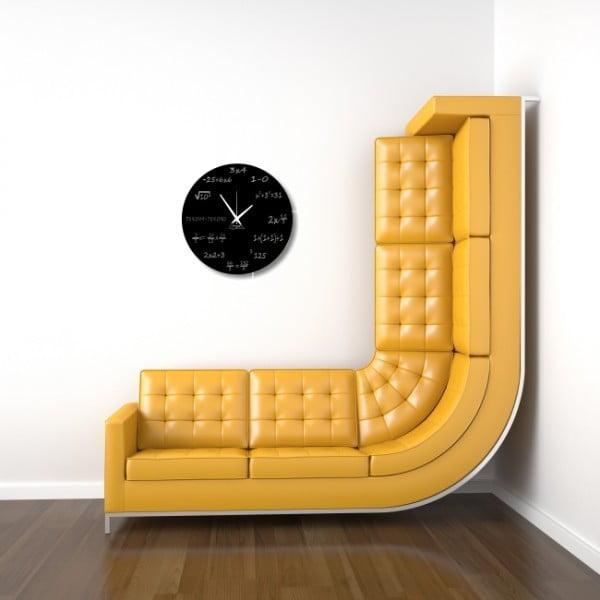 Nástenné hodiny Maths Clock