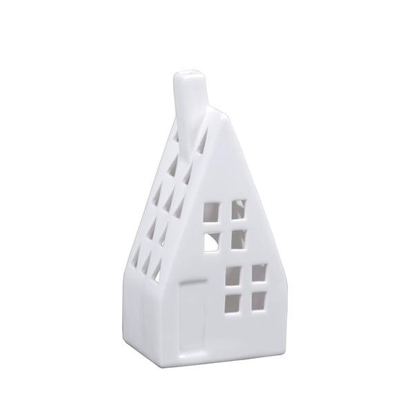 Porcelánový svietnik v tvare domčeka Ego Dekor
