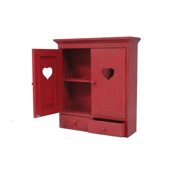 Nástenná skrinka Red Heart