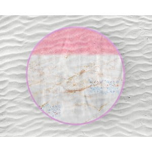Plážová osuška Endless Mae Ivy, Ø150 cm