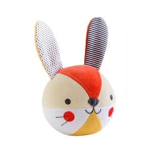 Hračka s malým zvončekom Petit collage Bunny