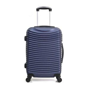 Tmavomodrý cestovný kufor na kolieskach Hero Etna, 36l