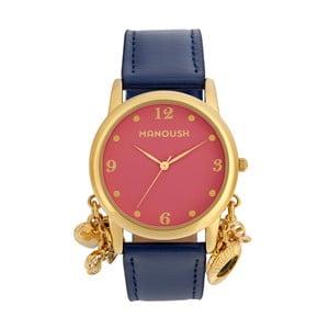 Dámske hodinky s koženým remienkom Manoush Memories
