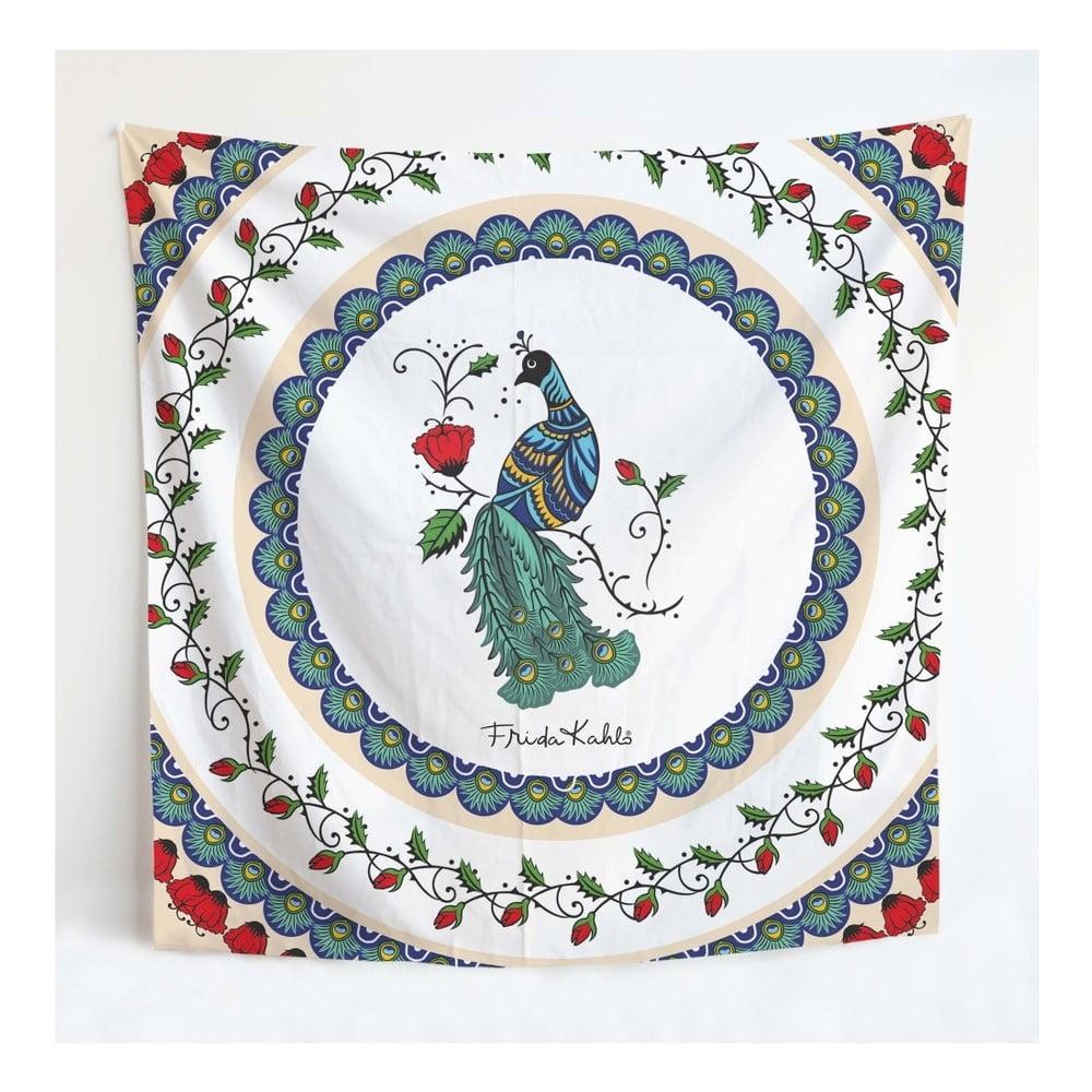 Nástenná tapiséria Madre Selva Frida Mandala, 140 × 140 cm