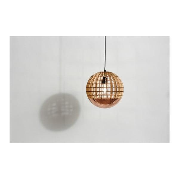 Závesné svetlo Massow Design Globe Copper