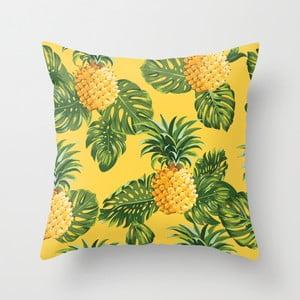 Obliečka na vankúš Pina Yellow, 45x45 cm
