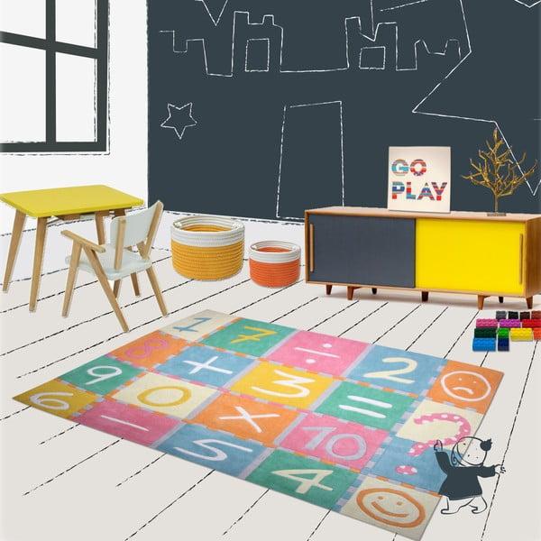 Detský koberec Marelle Maths, 130x160 cm
