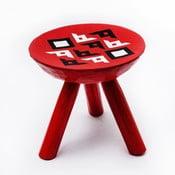 Ručne maľovaná stolička Bran, 28 cm