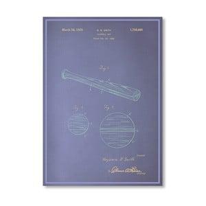 Plagát  Baseball Bat, 30x42 cm