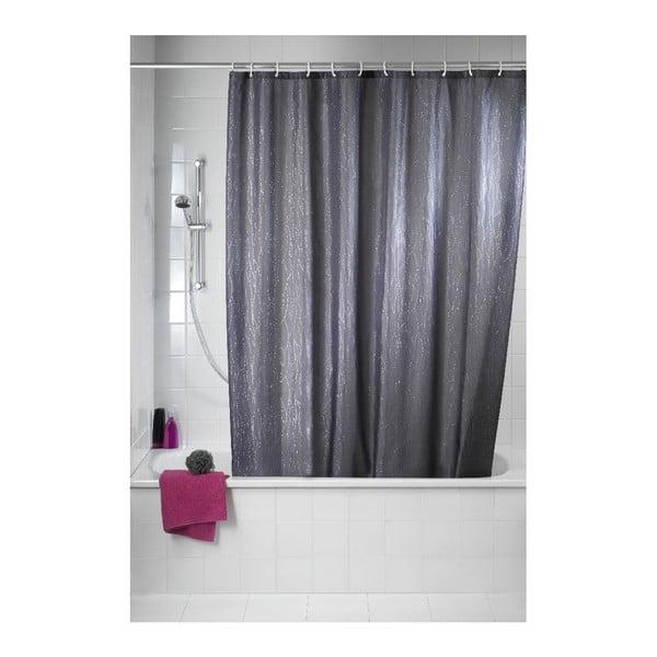 Záves do sprchy Deluxe, sivý