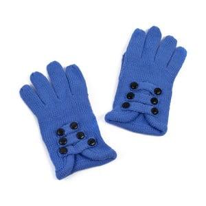 Tmavomodré dámske rukavice Art of Polo Pamela