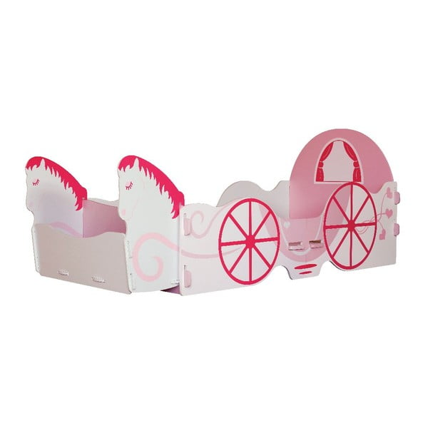 Detská posteľ Princess Carriage Junior, 175x80x73 cm
