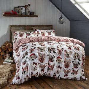 Obliečky Catherine Lansfield Dapper Dogs, 200 x 200 cm