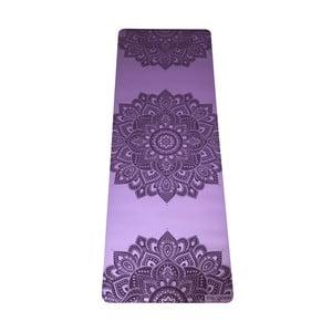 Fialová podložka na jogu Yoga Design Lab Mandala Lavender, 5 mm