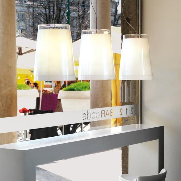 Transparentné  závesné svetlo Pedrali L001S/AA