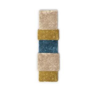 Hnedo-modrý koberec EMKO Over Stripe