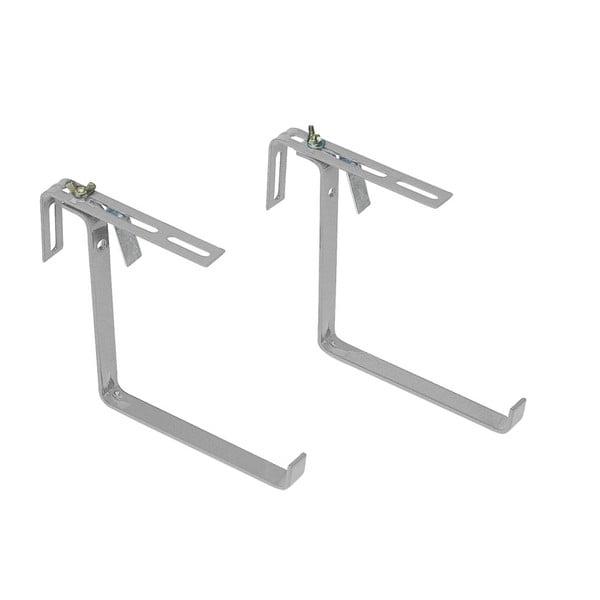 Držiak na zábradlie Basic Aluminium