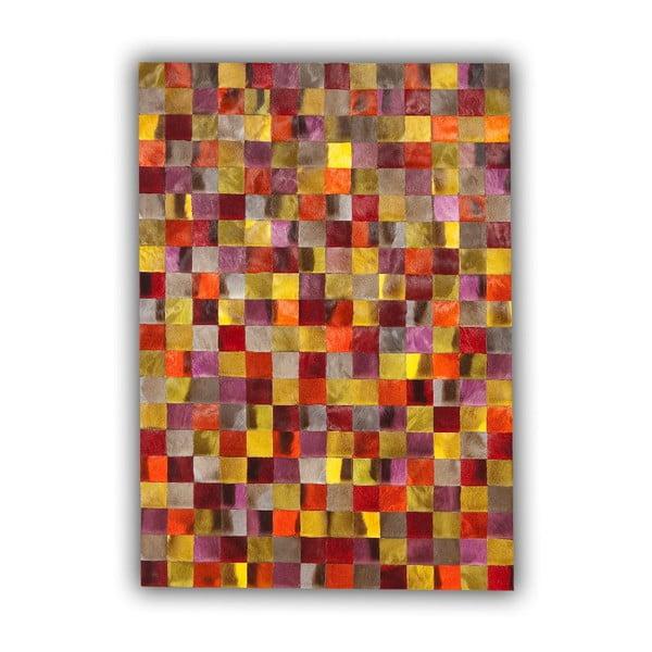 Koberec z pravej kože Springbok Dyed, 140x200 cm