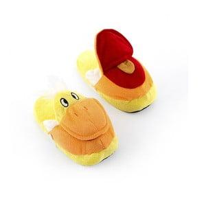 Detské papuče InnovaGoods Fluffy Slippers Duck, veľkosť S
