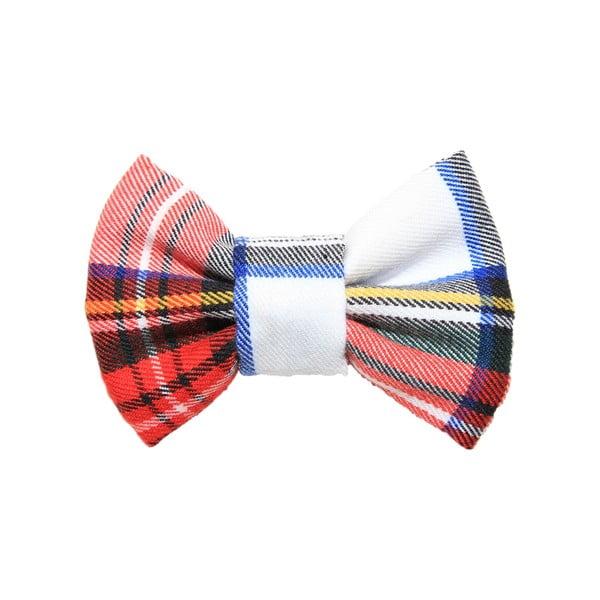 Farebný károvaný charitatívny psí motýlik Funky Dog Bow Ties, veľ. M