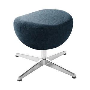 Tmavomodrá otočná stolička/podnožka My Pop Design Indiana