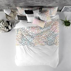 Balvnená obliečka na paplón Blanc Net, 240×220 cm