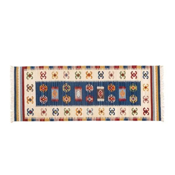 Ručne tkaný koberec Kilim Dalush 305, 180x65 cm