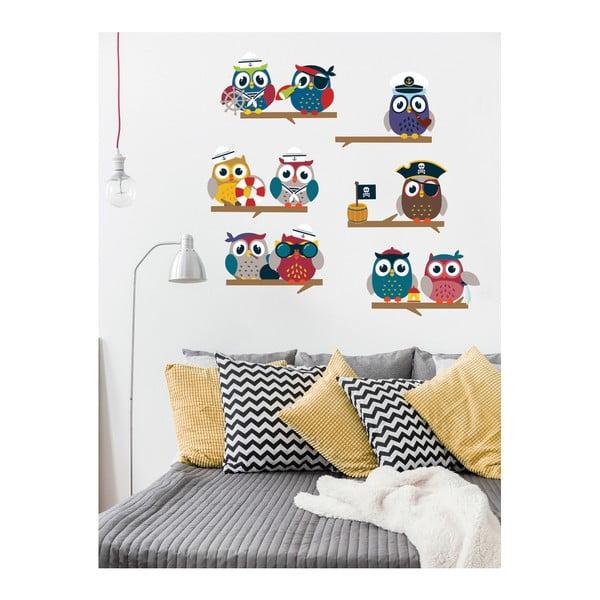 Sada samolepiek Ambiance Owls