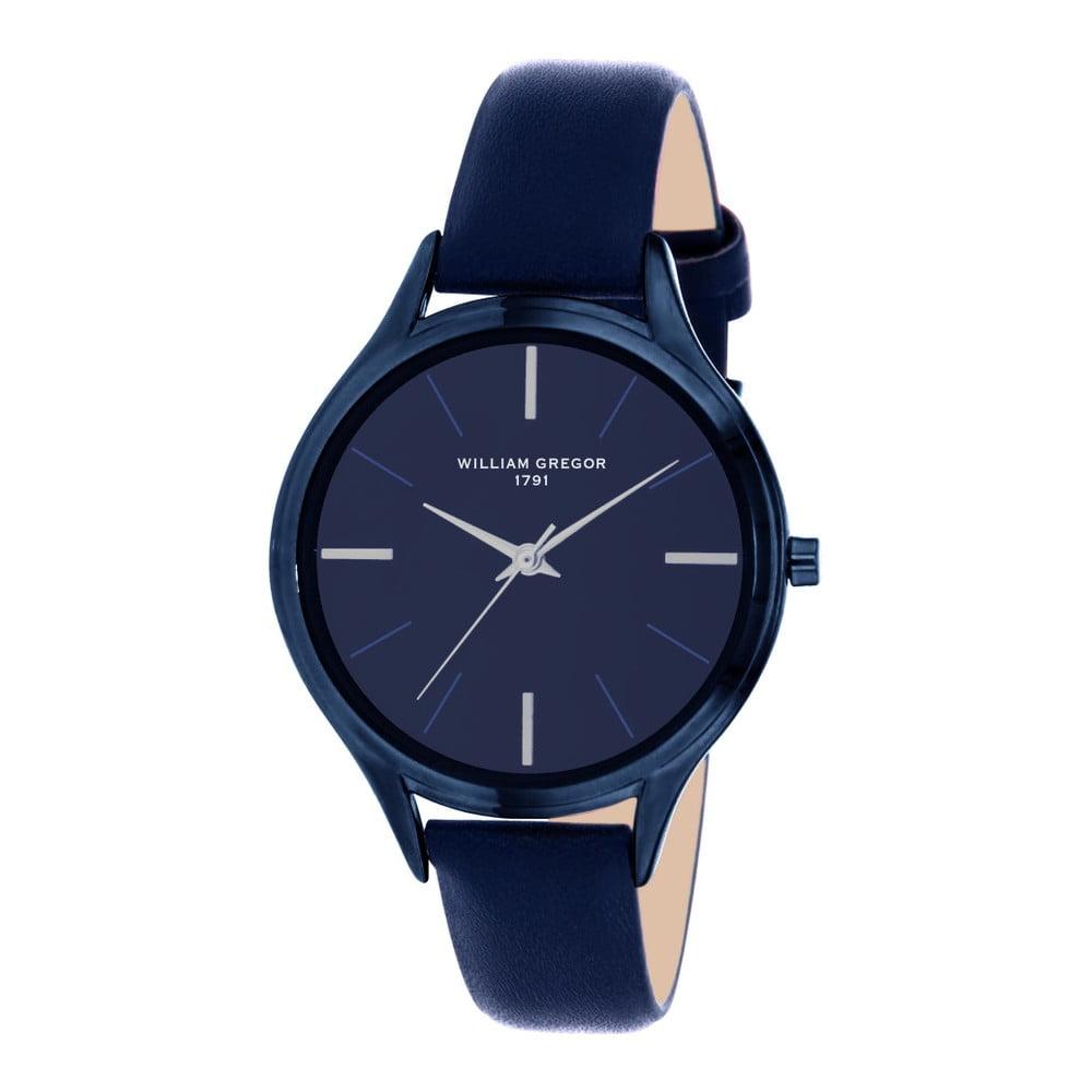 3c0935ce8759 Dámske hodinky s koženým remienkom William Gregor Janey