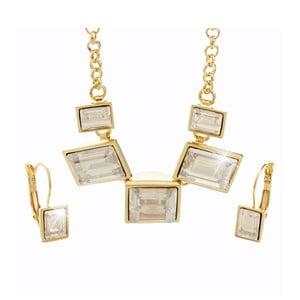 Set náhrdelníka a náušníc s krištáľmi Swarovski® Yasmine Agnete