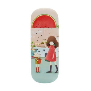 Obojstranné puzdro na okuliare Kori Kumi Melon Showers
