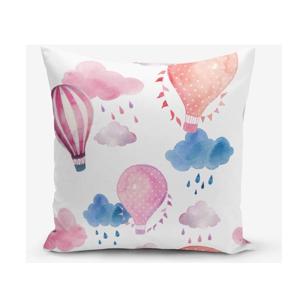 Obliečka na vankúš s prímesou bavlny Minimalist Cushion Covers Balon, 45 × 45 cm