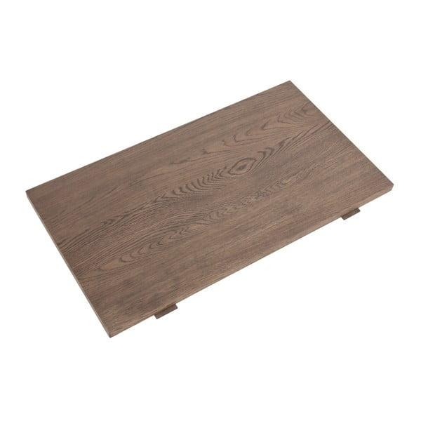 Hnedá prídavná doska stolu Actona Brentwood