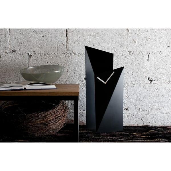 Stolné hodiny Clock 56 cm, čierne