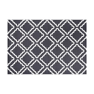 Tmavomodrý vinylový koberec Zala Living Amy, 97×140cm