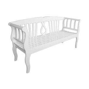 Záhradná lavica z eukalyptového dreva ADDU Arcadia