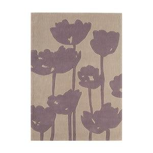 Svetlosivý koberec Asiatic Carpets Harlequin Florist, 170 x 120 cm