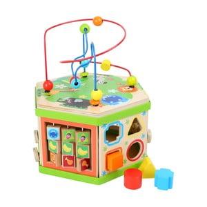 Drevená hračka pre rozvoj motoriky Legler Safari