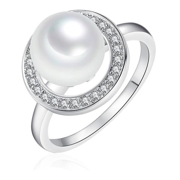 Perlový prsteň Pearls Of London Sea South, veľ. 54